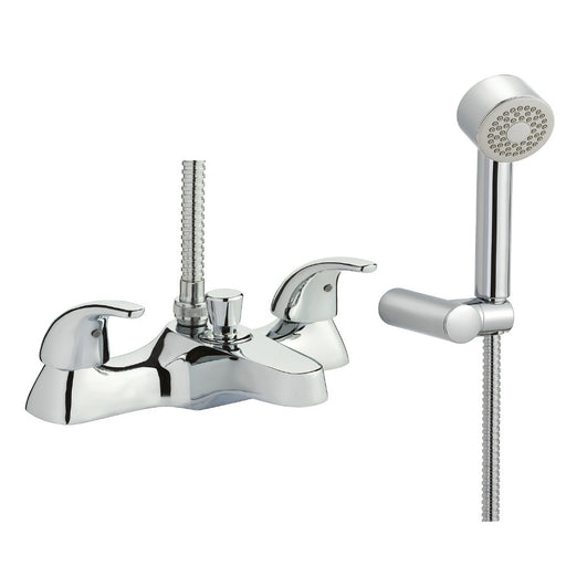 Just Taps Topmix Bath Shower Mixer Tap With Kit TM13275