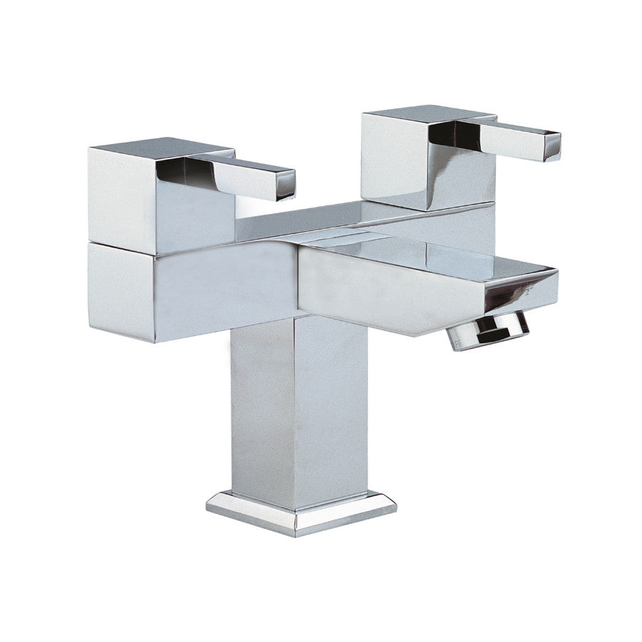 Just Taps Kubix Chrome Monobloc Basin Mixer Tap 35169 – Taps Direct