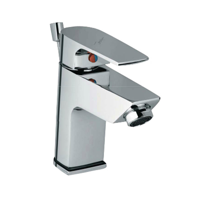 Just Taps Aria Chrome Single Lever Basin Mixer Tap ARI39051