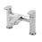 Tre Mercati 21040 Chrome Geco Pillar Bath Filler