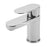 Tre Mercati Geco Mono 21060 Chrome Basin Mixer with Click Clack Waste front View