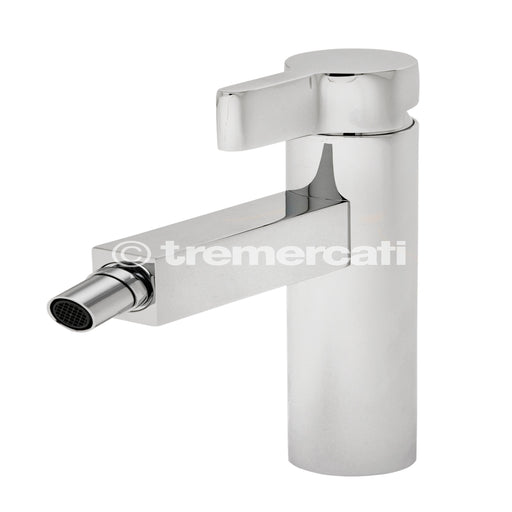 Tre Mercati 22580 Chrome Cabana Mono Bidet Mixer with Pop-Up Waste Full View