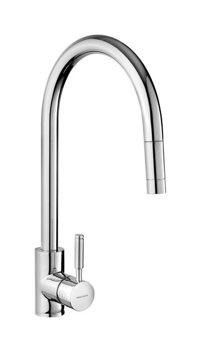 Rangemaster Aquatrend Single Lever Pull Out Kitchen Tap