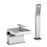 Tre Mercati Dance  25860 Chrome Waterfall Bath Shower Mixer Complete with Kit Full View