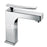 Tre Mercati Dance 25870 Chrome Mono Basin Mixer with Pop-Up Waste Full View