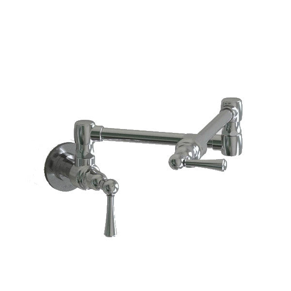 Steam Valve Wall Mounted Articulated Pot Filler - 1003