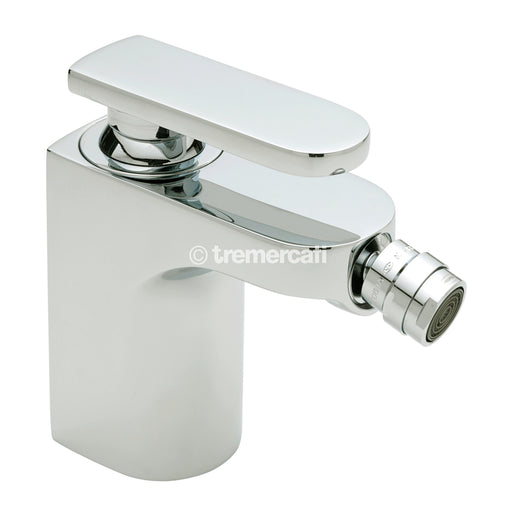Tre Mercati 40080 Chrome Coast Mono Bidet Mixer with Pop-Up Waste Full View