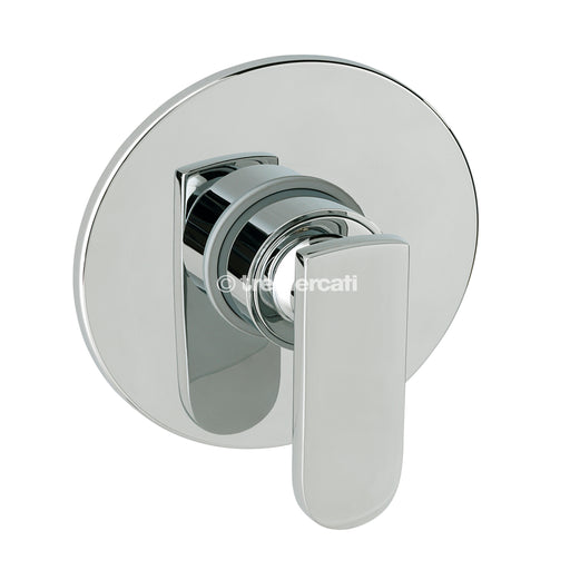Tre Mercati  40090 Chrome Coast Concealed Manual Shower Valve Full View