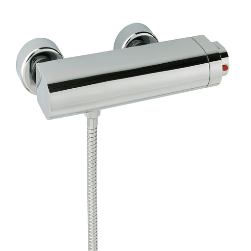 Tre Mercati 40092 Chrome Coast Exposed Thermostatic Bar Valve Full View