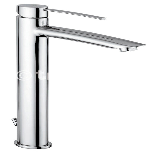 Tre Mercati Chrome 42075 Bellas Extended Mono Basin Mixer Full View