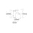 Tre Mercati Bella Mono Bidet Mixer with Pop-Up Waste 42080 Dimensions