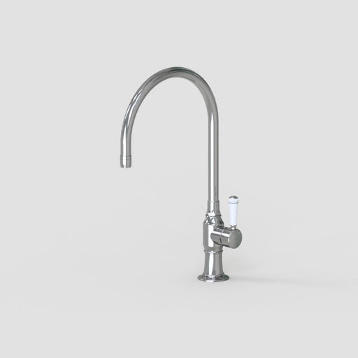 Steam Valve Single Lever Kitchen Mixer Tap with Swivel Spout 1071
