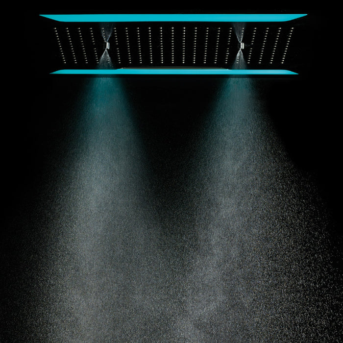 Just Taps Aquamist Luxury Ceiling Mounted Shower Head AMS600