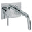 Tre Mercati Chrome 63035 Milan 2 Hole Wall Mounted Bath Filler Full View