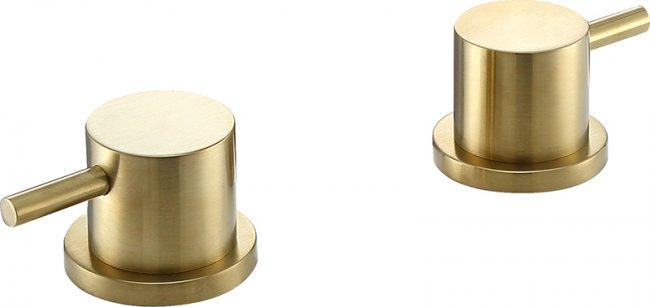 VOS brushed brass Panel Valves, MP 0.5