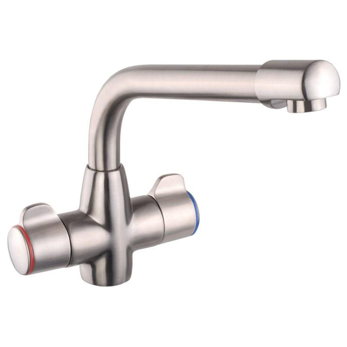 Mayfair KIT203 Aspen Traditional Brushed Nickel Mixer Front View