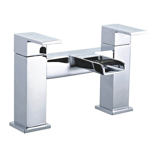 Chrome Waterfall Constantine Bath Tap Front View