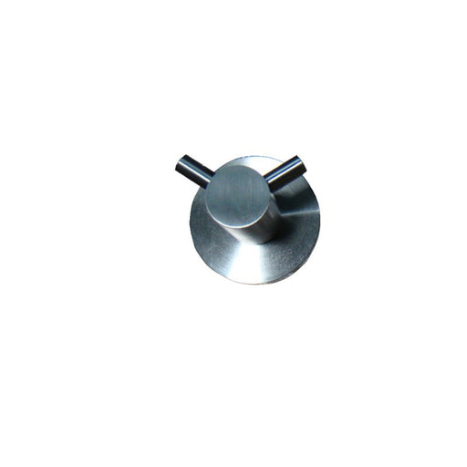 Front View of Inox Double Robe Hook - IX161