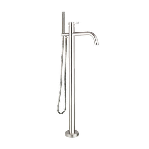 Side View of Inox Vintage Bath Shower Mixer Tap & Kit