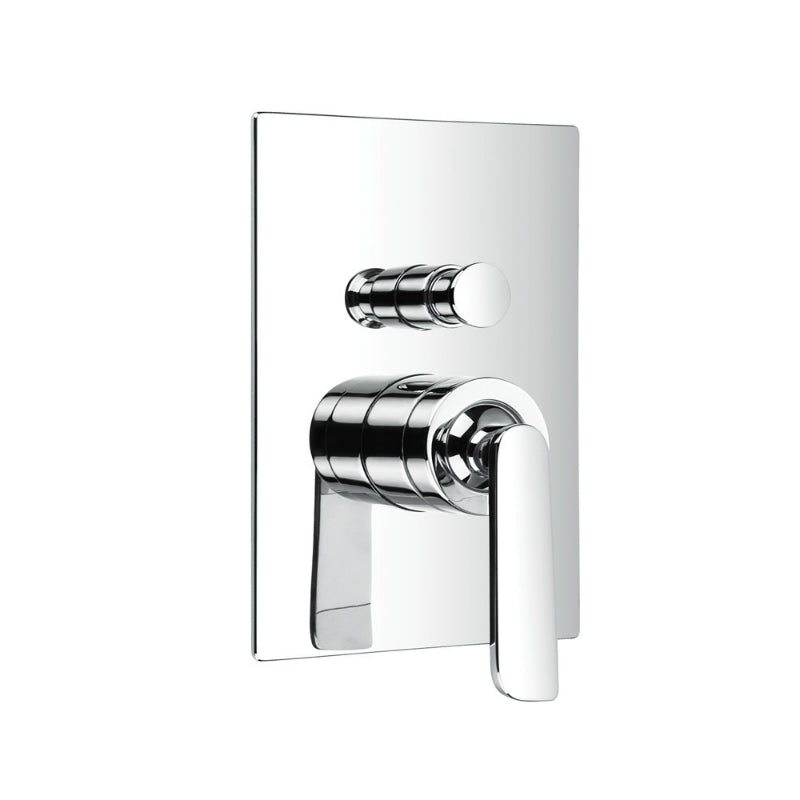 Just Taps 77079 Cascata Single Lever Diverter Front View