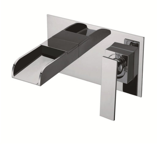 Just Taps 77231 Cascata Waterfall Basin Tap Front View
