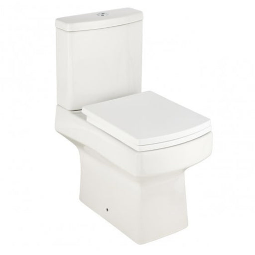 Just Taps ET001 Eton Square Toilet & Cistern Front View