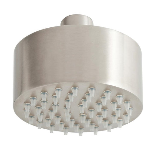 Front View of Just Taps Inox Mini Shower Head -IX555