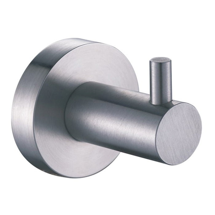 Inox Robe Hook Front View  IX191