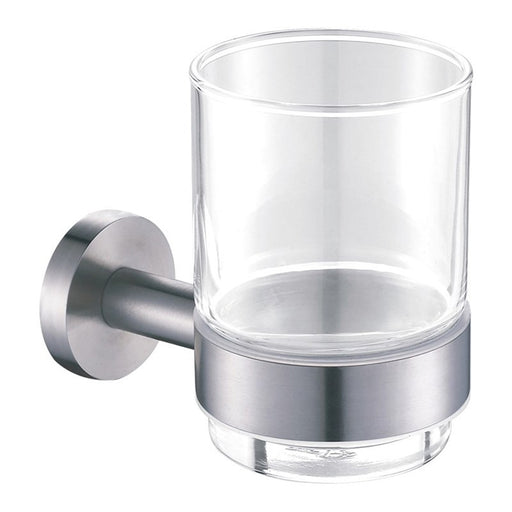 Front View of Just Taps Inox Tumbler Holder