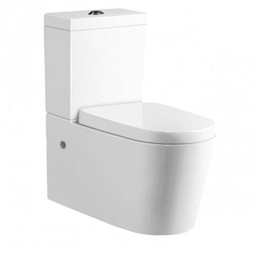 Just Taps PR001 Profile Toilet & Cistern Front View