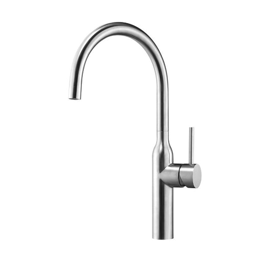 Front Photo Of JustTaps Apco Stainless Steel Bottle Neck Kitchen Mixer Tap