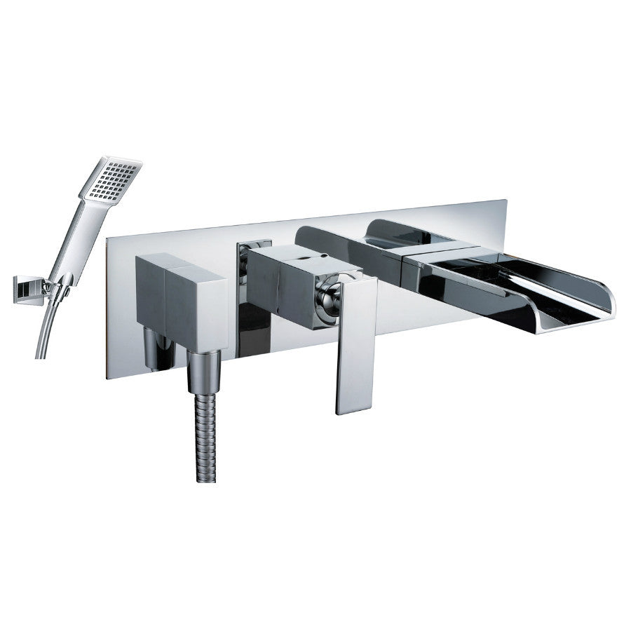 just taps cascata wall mounted bath shower mixer tap 77153 taps front photo of justtaps cascata wall mounted bath shower mixer tap model 77153