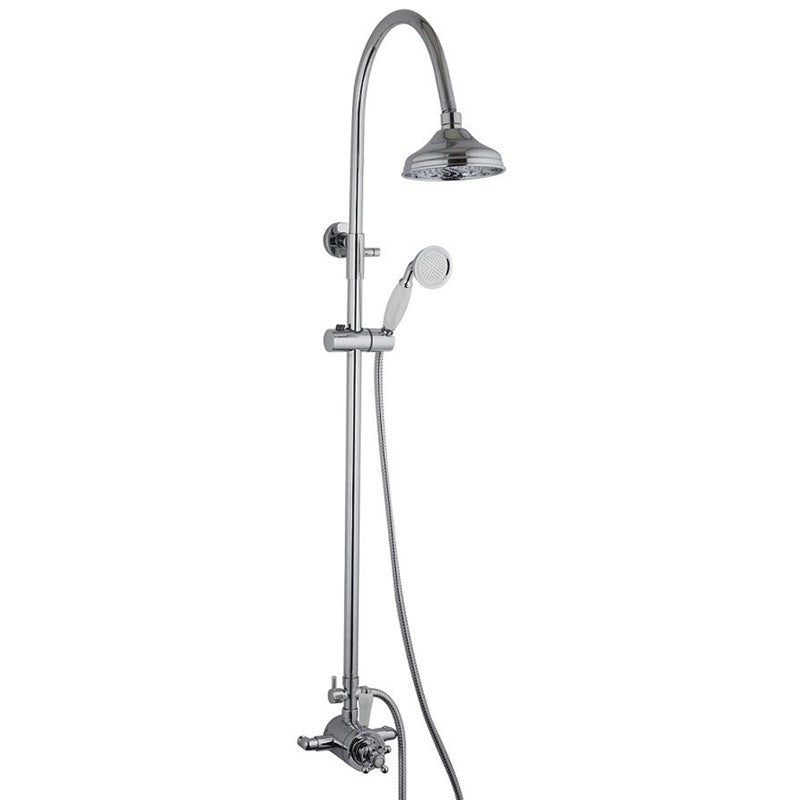 Mayfair OX200 Oxford Exposed Shower Set Front View ...
