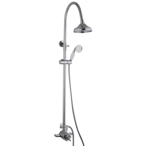 Mayfair OX200 Oxford Exposed Shower Set Front View