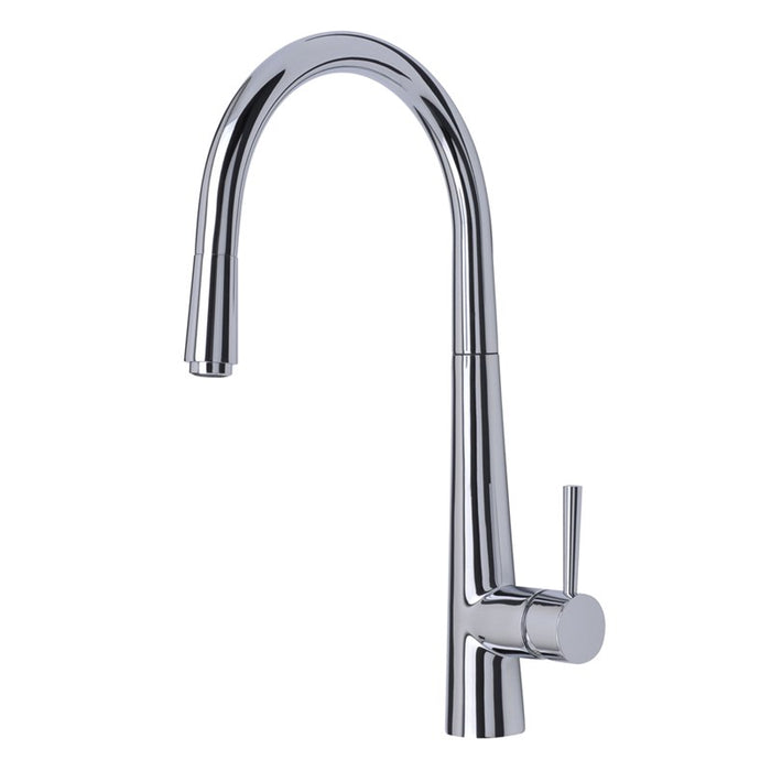 Chrome Pull Out Spout Monobloc Palazzo Front View