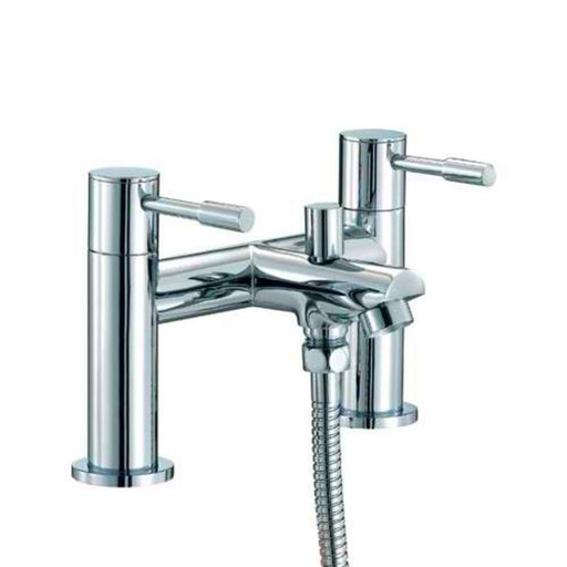 Mayfair SFL009 Series F Chrome Dual Lever Bath Shower Mixer Tap Front View