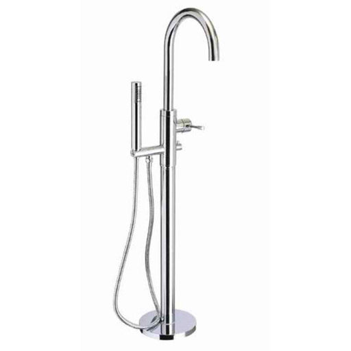 Mayfair SFL083 Series F Curved Floor Mounted Bath Shower Mixer Tap Front View