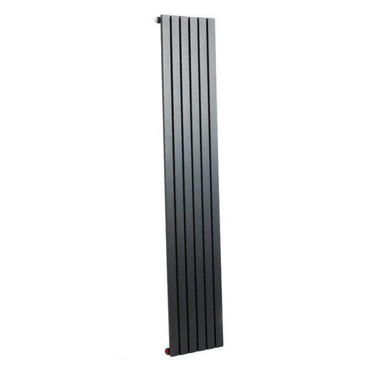 Image shows Mayfair Arabian Vertical Single Panel Radiator Model ARA6/1800SA with a White background