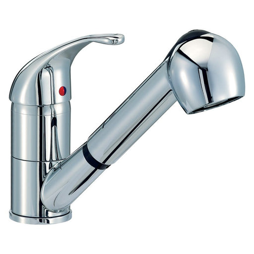 photo of Mayfair KIT007 Titan Kitchen Tap With PullOut Nozzle (white background)