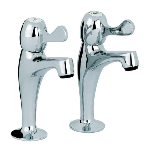 This photo shows the Alpha Mayfair KIT129 Alpha Pillar Kitchen Taps