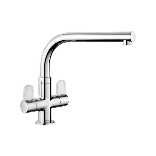 Rangemaster Salorno Mono Chrome Dual lever Mixer - Kitchen Tap TSN1