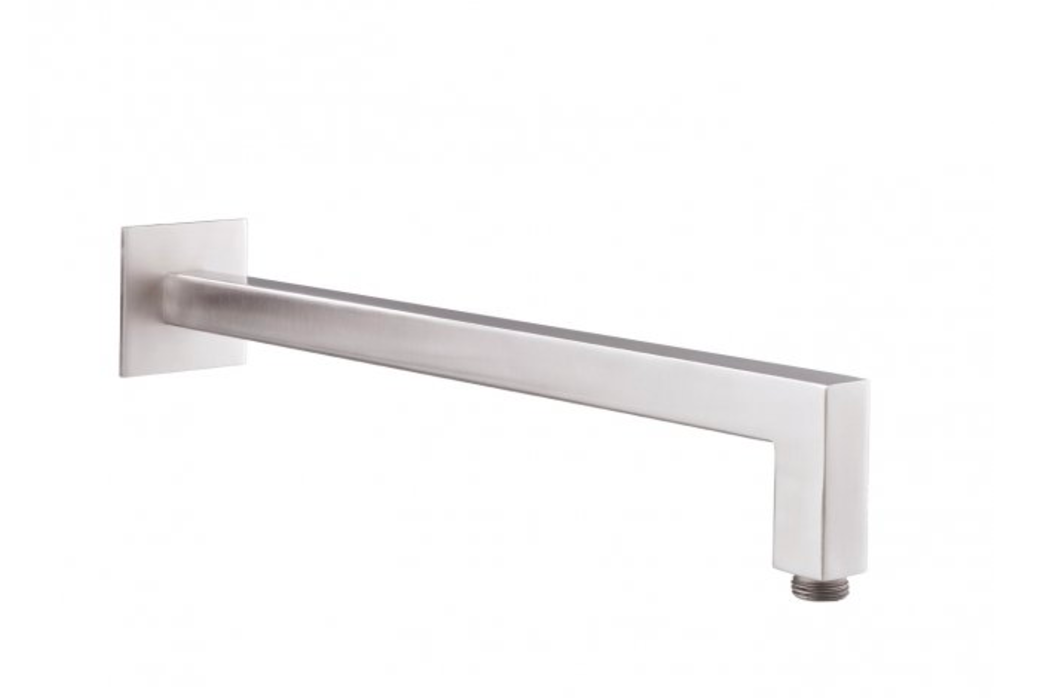 Just Taps IX003 Inox Wall Mounted Shower Arm Front View