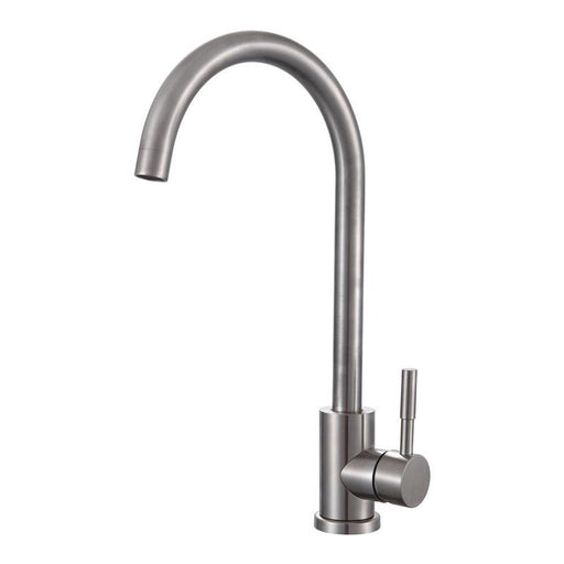 Stainless Steel Mono Logic Kitchen Tap Front View