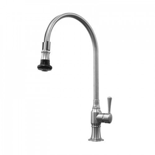Side View of Steam Valve Mono Single Lever Tap