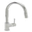 Tre Mercati Chrome Solar Pluto-Lite Mono Sink Mixer With Pull Out Spray 93010 Front View