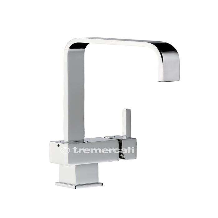 Tre Mercati Chrome Times Mono Sink Mixer 90060 Front View