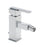 Tre Mercati Chrome Vespa Mono Bidet Mixer With Pop-Up Waste 45080 Front View