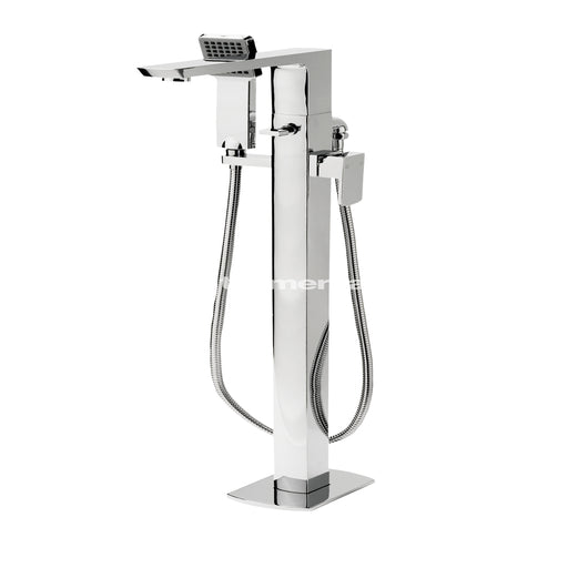 Tre Mercati Vamp Floor Mounted Bath Shower Mixer Complete With Kit 43056 Front View