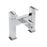 Tre Mercati Chrome Vespa Pillar Bath Filler 45040 Front View