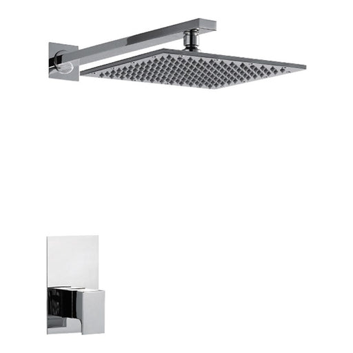 Just Taps Antler Concealed Shower Set With Valve & Rain Shower Head 44415